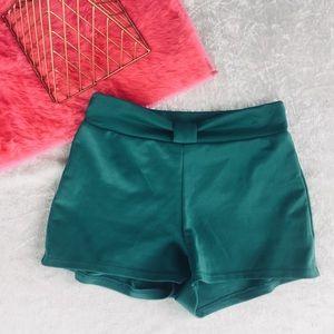 Pants - ❤️ 5/25 Spandex Teal Shorts